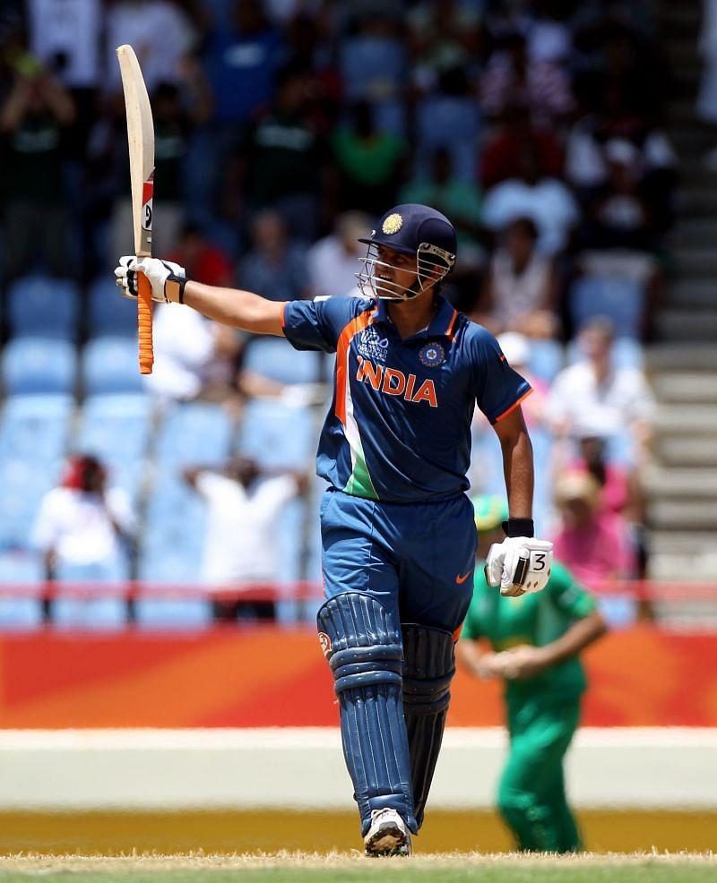 सुरेश रैना ने भारत  की तरफ से टी20 में पहला शतक लगाया था