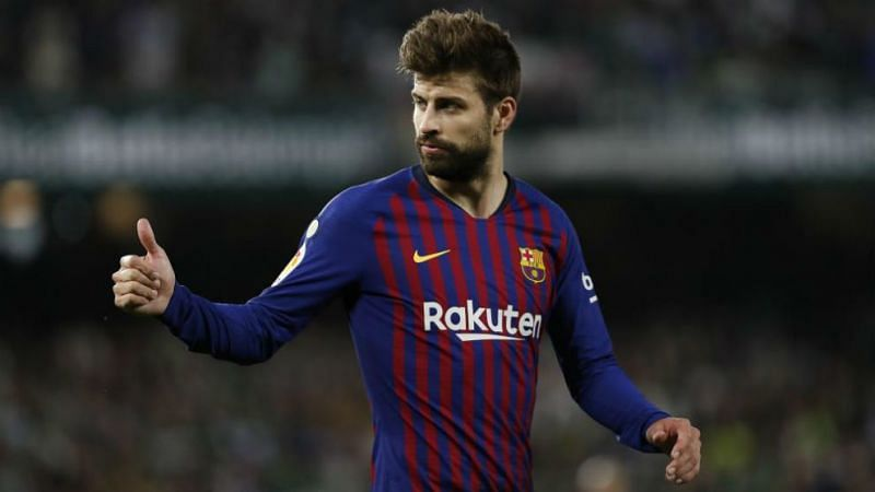 Barcelona and Gerard Pique, on the bright note, haven