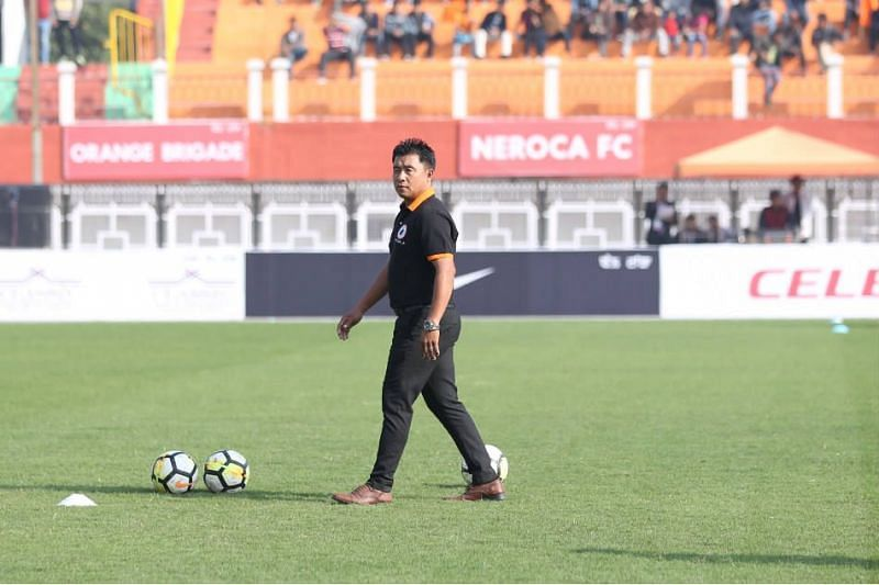 Gift Raikhan led Neroca FC to the I-League 2nd Division 2016-17 title.