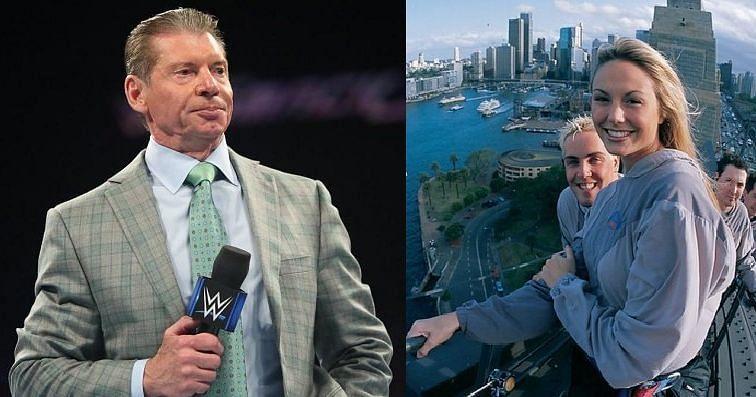 Vince McMahon, David Flair, and Stacy Keibler