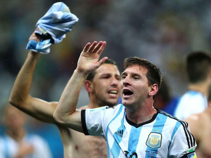 Lionel Messi à la Coupe du Monde de la FIFA 2014