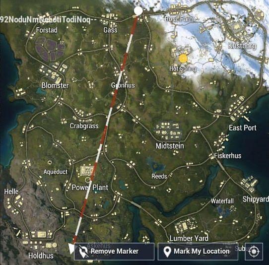 Livik Map