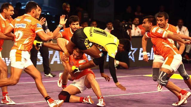 Manjeet Chhillar possesses some of the most lethal holds in the PKL