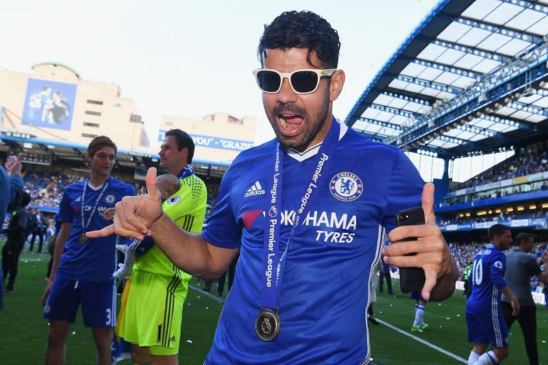 Diego Costa was fiery and brilliant at times during his three-year stay at Chelsea.