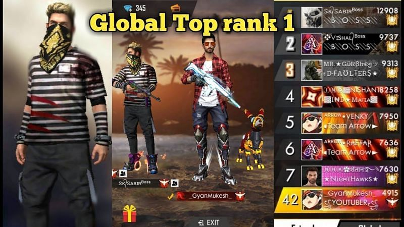 5 Best Free Fire Players In The World
