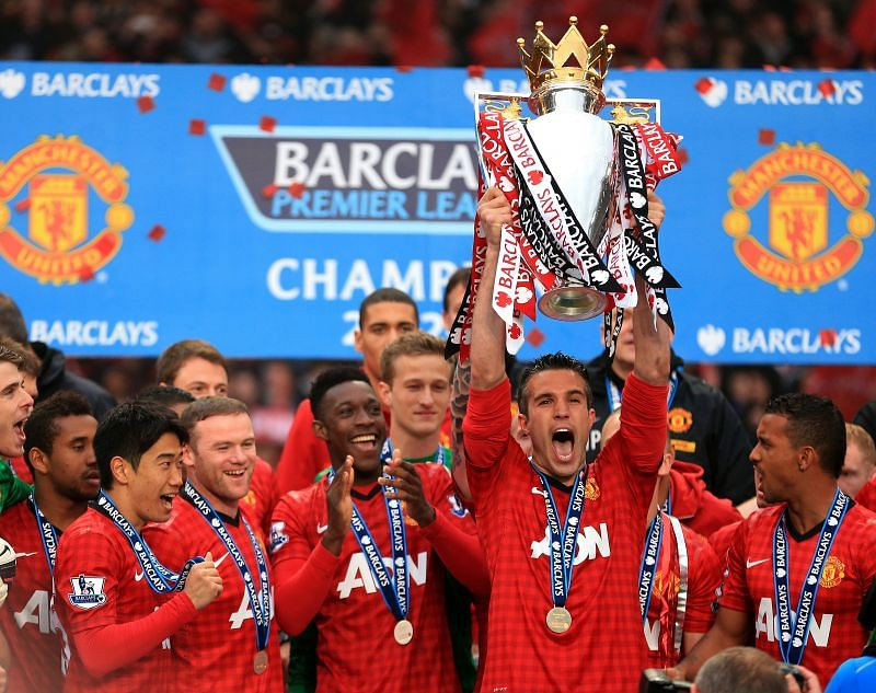 Robin van Persie won the EPL win Manchester United in 2012.