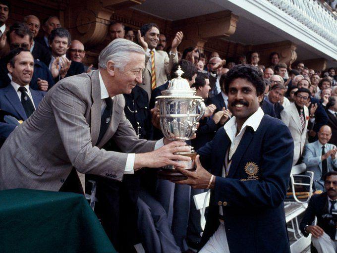 कपिल देव की कप्तानी में भारत ने पहली बार जीता था वर्ल्ड कप