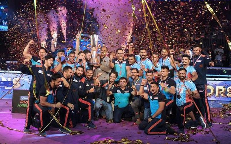 Bengal Warriors defeated Dabang Delhi KC in the finals of Pro Kabaddi League Season 7