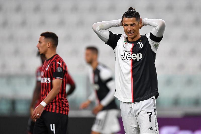 Juventus edged past AC Milan on away goals to advance through to the Coppa Italia final