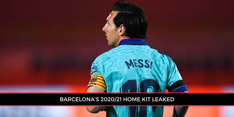 Barcelona S 2020 21 Nike Home Kit Leaked Ahead Of Release