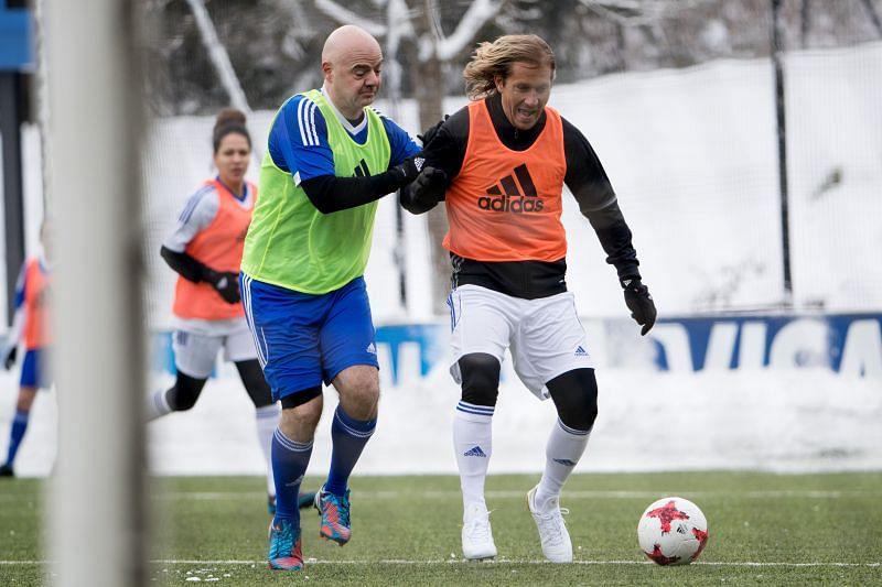 Michel Salgado (Right)
