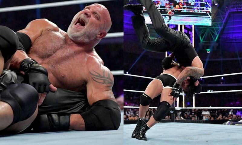 The Undertaker and Goldberg in WWE