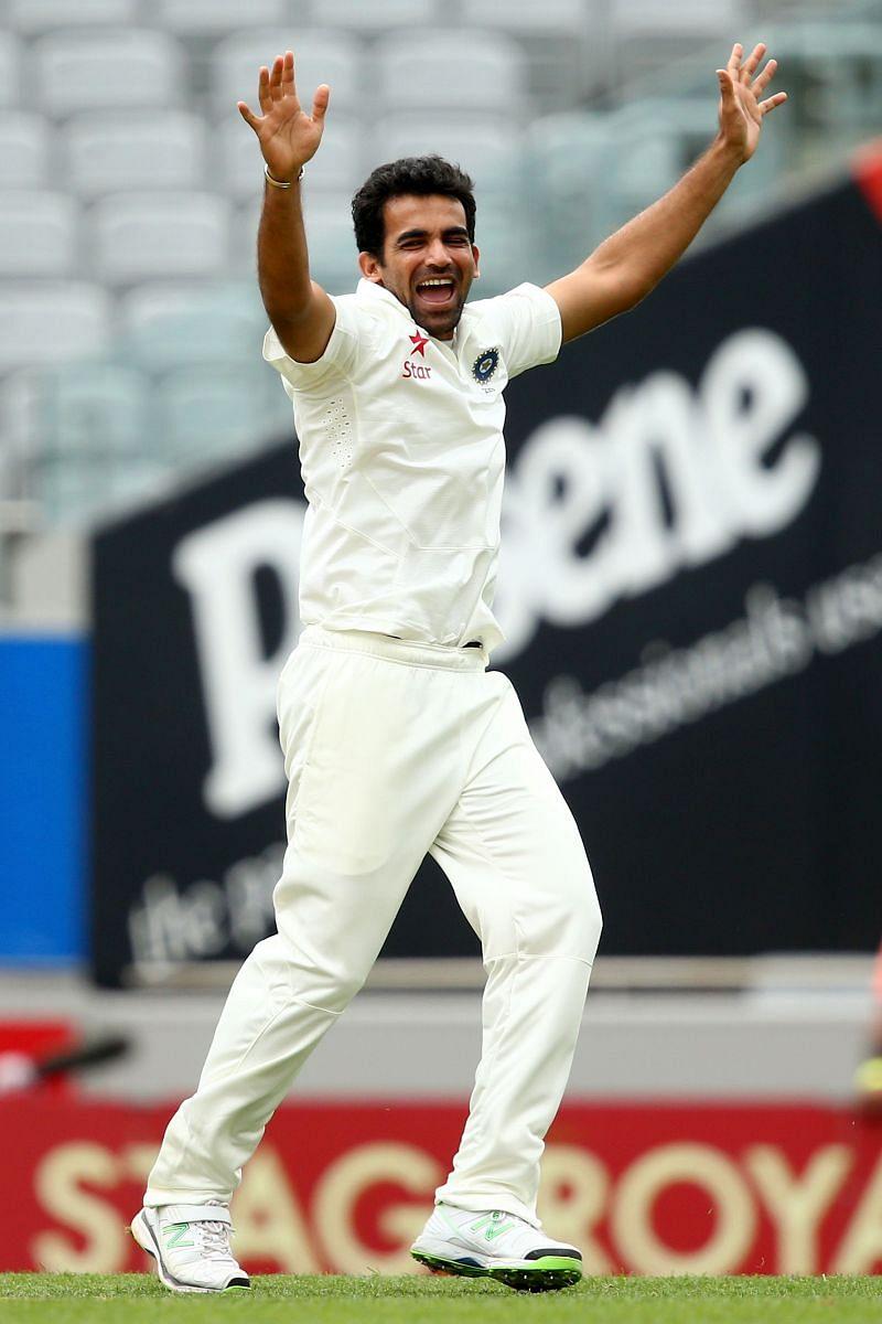 जहीर खान ने अपनी आखिरी टेस्ट पारी में लिए थे 5 विकेट