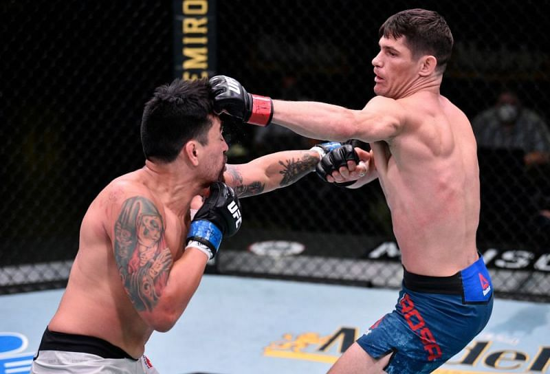 The main card saw a lot of fights - like Charles Rosa vs. Kevin Aguilar - go the distance