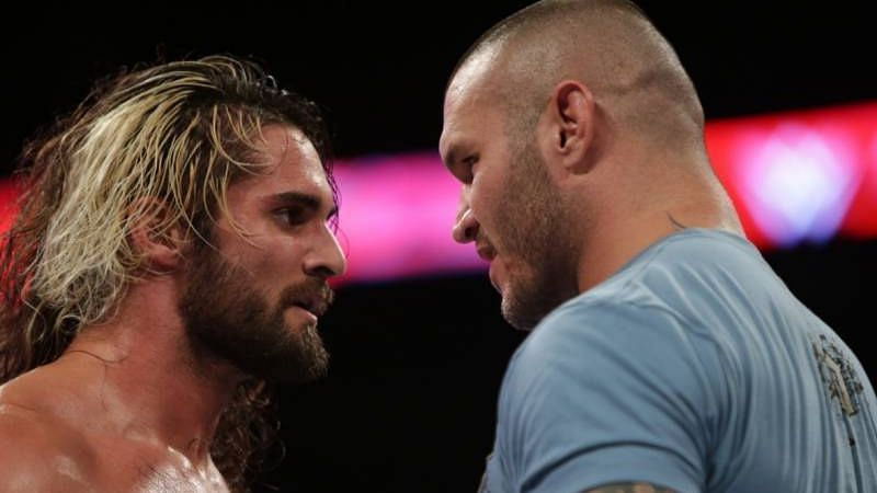 Randy Orton feuded with Seth Rollins in the sixth year of his 10-year WWE contract