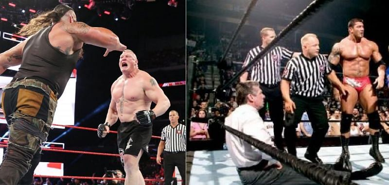 Several WWE Superstars have been forced to go off-script in the past.