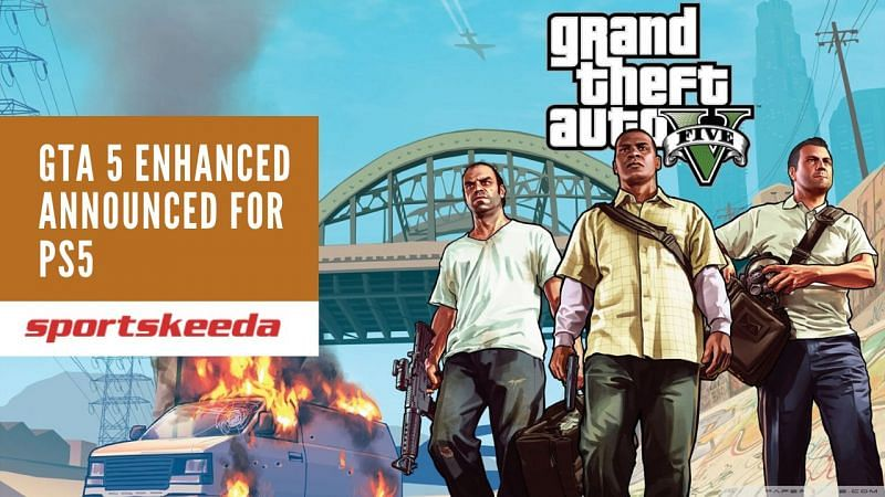 Grand Theft Auto 5 Announced For PS5.
