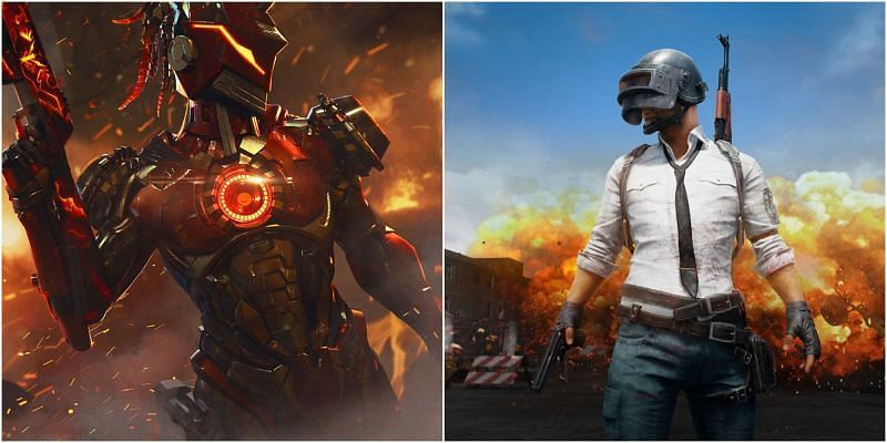 5 games like PUBG Mobile and Free Fire on iOS (Picture Courtesy: ff.garena.com and PUBG Mobile)