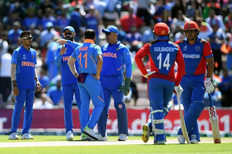 भारत  vs अफगानिस्तान वर्ल्ड कप मुकाबला