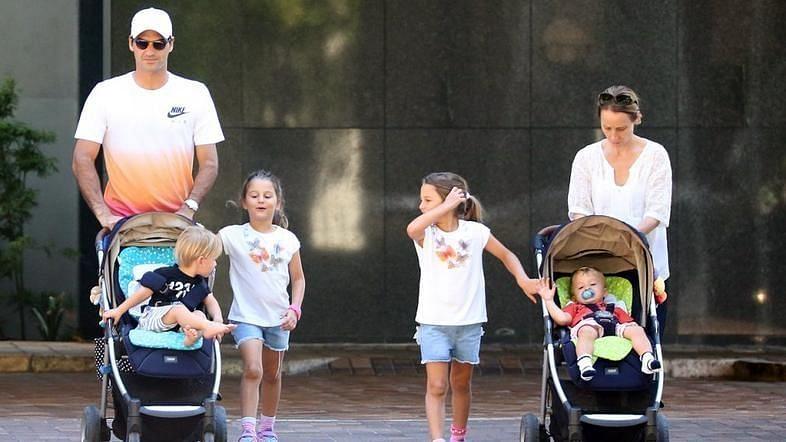 Roger Federer's Family