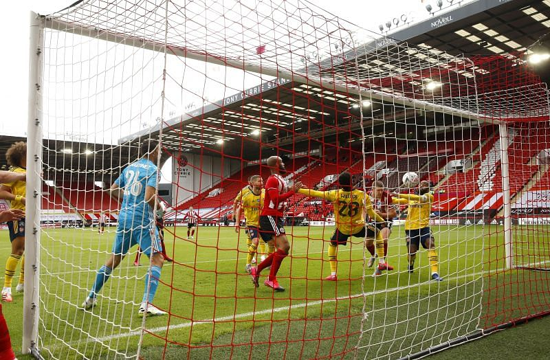 Arsenal beat Sheffield United 1-2 away from home