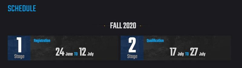 PUBG Mobile Club Open 2020 Fall Split