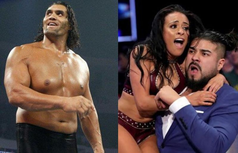 The Great Khali and Zelina Vega had an amusing interaction backstage in WWE