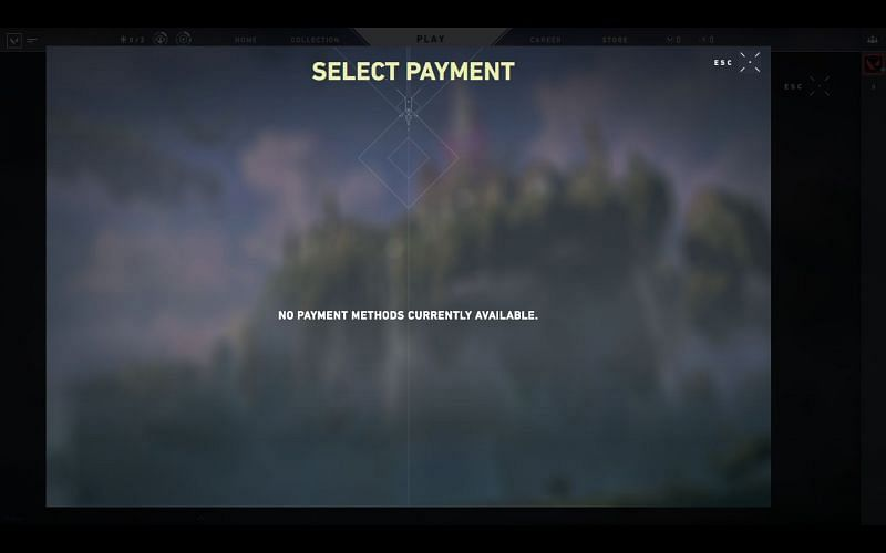 No payment methods are available in India as of now