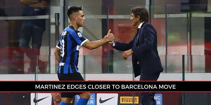 Lautaro Martinez has indicated his desire to move to Barcelona