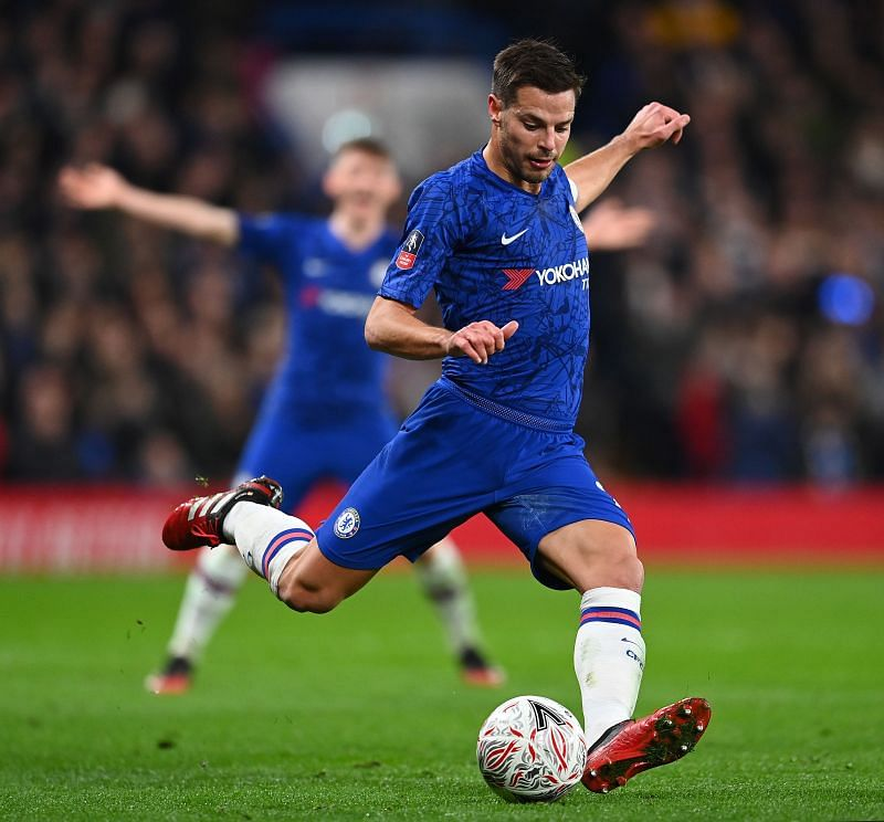 Azpilicueta produced two match-winning assists in the second half