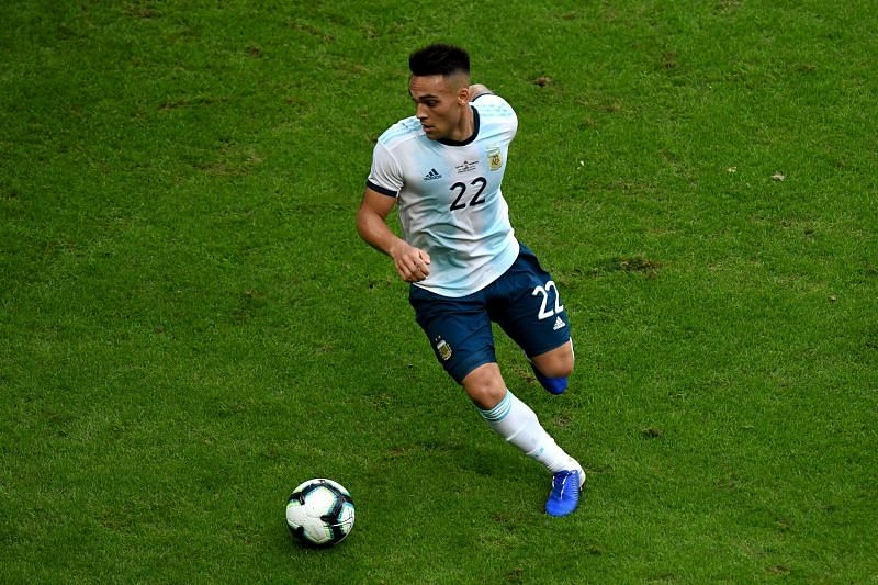 Lautaro Martinez could be the player in the vital centre-forward position that Argentina has been missing.