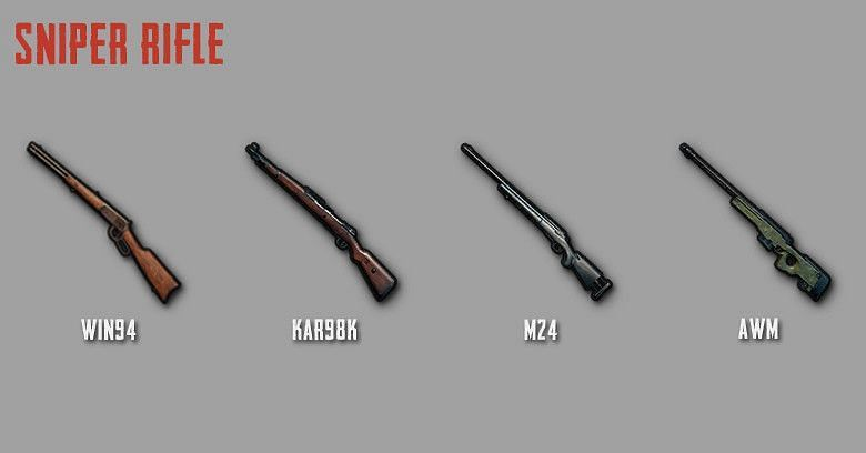 PUBG Mobile: All sniper rifles ranked from best to worst