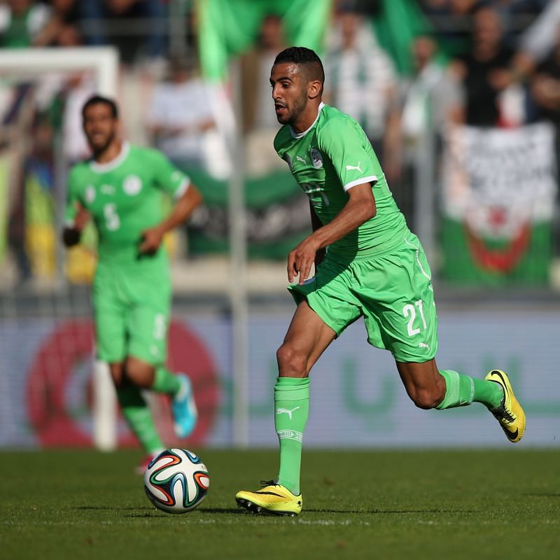 Mahrez solidified his greatness in Algerian history when he captained them to AFCON glory in 2019