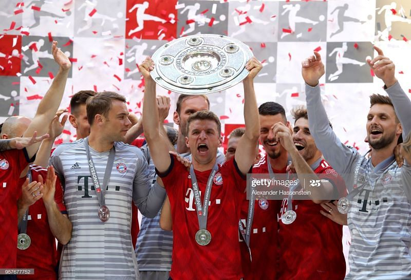 Bayern Munnich look set to celebrate another Bundesliga title
