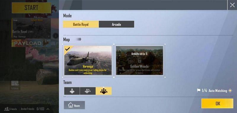 Battle royale maps of PUBG LITE