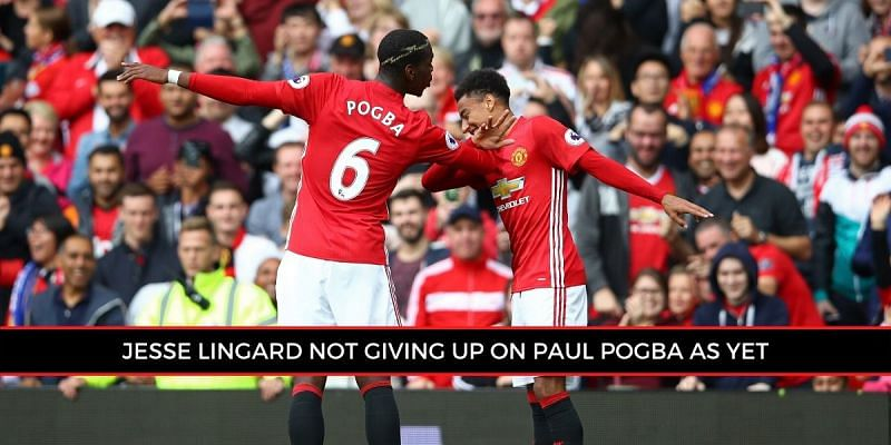 Jesse Lingard has vouched for his Manchester United teammate