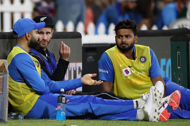 Virat Kohli and Kane Williamson spent a lot of time together during India