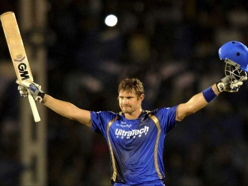 Shane Watson was the Man of the Tournament in the first season of the IPL