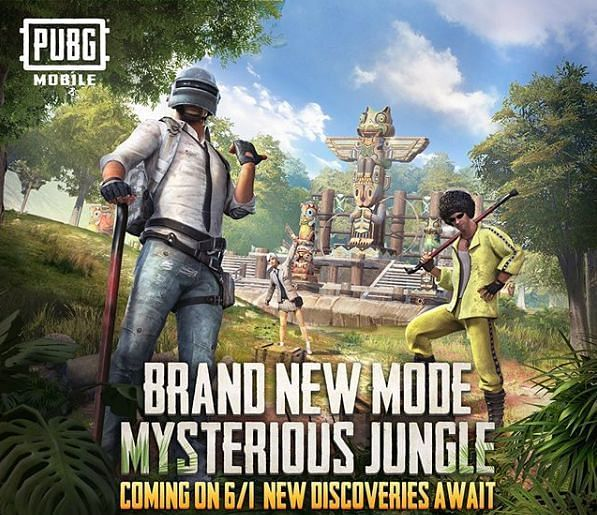 Jungle Adventure Mode PUBG Mobile