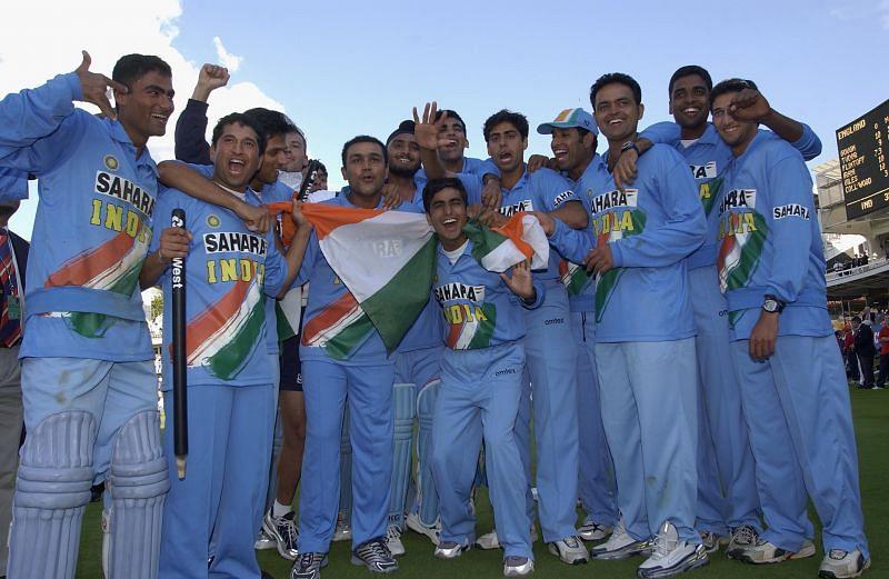 जीत के बाद भारतीय टीम
