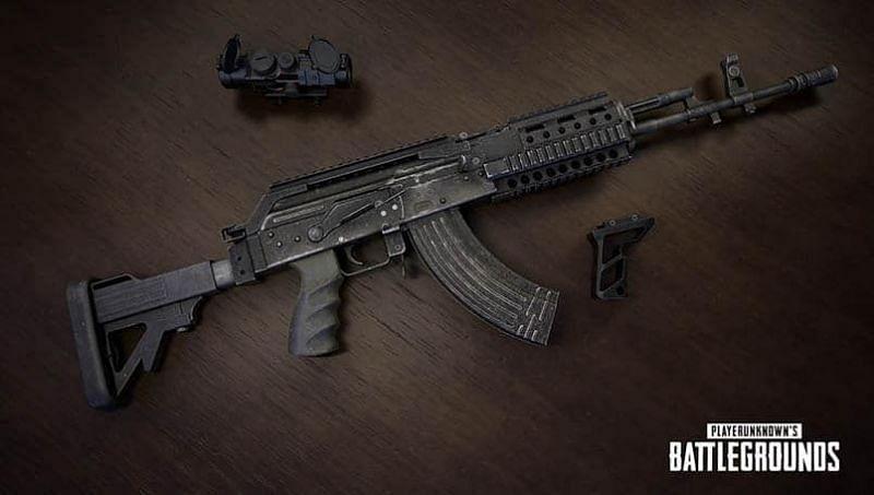 M762 IN PUBG MOBILE