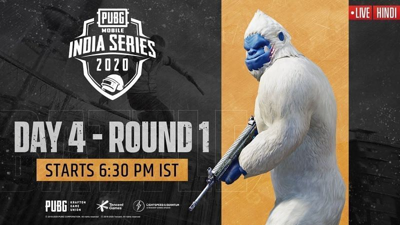 PUBG Mobile India Series results and Overall standings