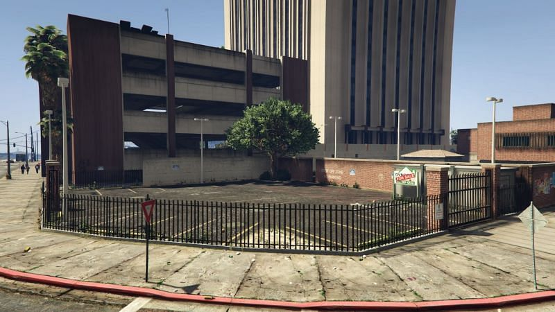 The Impound Lot in GTA: Online and GTA 5.