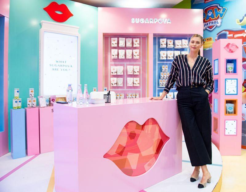 Maria Sharapova Meet & Greet At Candylicious