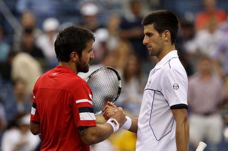 Janko Tipsarevic is a close friend of Novak Djokovic