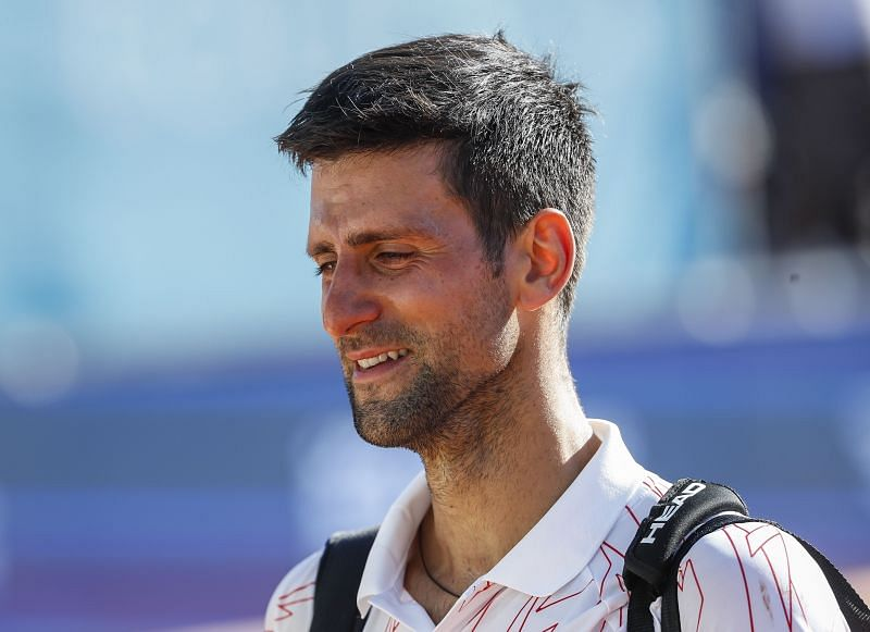 Novak Djokovic had reached the finals of the Zadar leg before canceling the tour