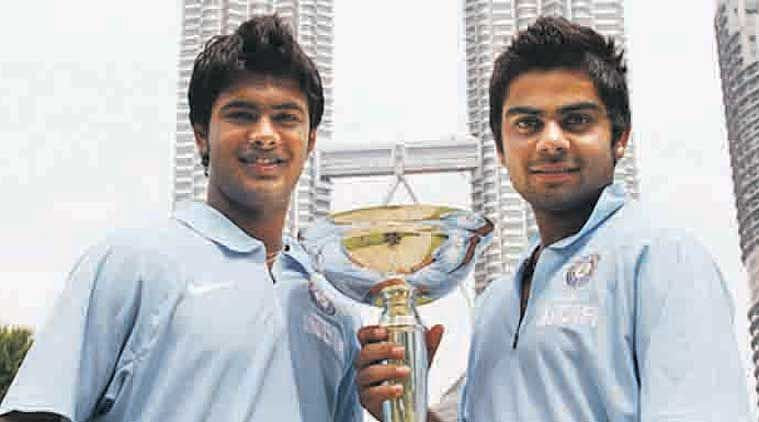Virat Kohli in front of the Petronas Tower after winning the 2008 U-19 World Cup