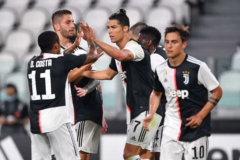 Juventus secured a 4-0 victory over Lecce to go seven points clear at the top of Serie A