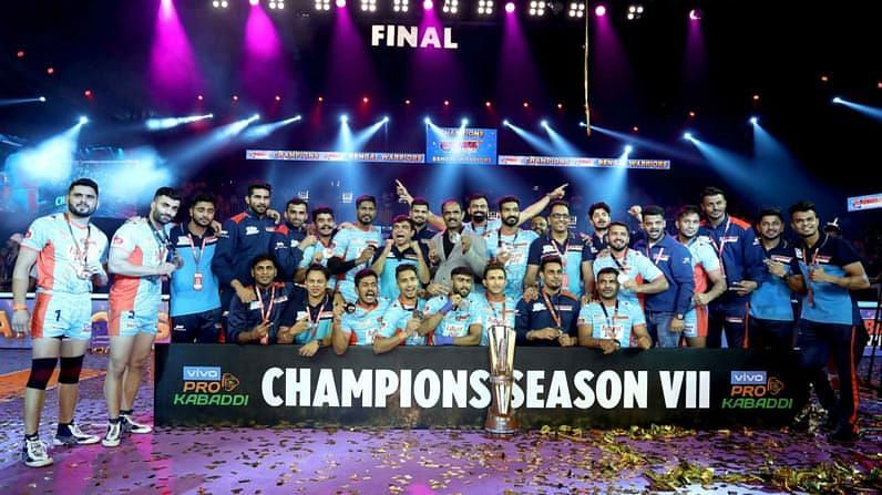 Bengal Warriors became the fifth different team to win the PKL in Season 7.