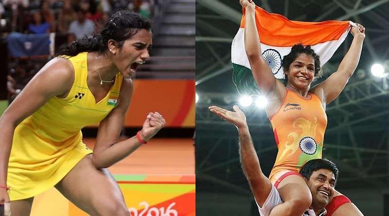 PV Sindhu and Sakshi Malik had won medals for India at the Rio Olympics